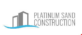 Product image for Platinum Sand Construction $1000 Off your complete kitchen or bathroom remodel FREE stainless steel sink, Moen faucet + handles included in kitchen remodel.