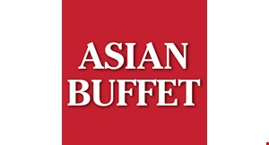 Product image for Asian Buffet DINNER $8.99. LUNCH $6.99.
