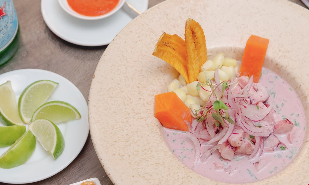 Product image for Ceviche Inka 10% off any food ticket