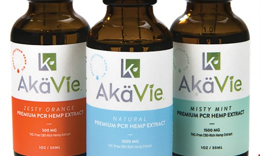 Product image for Akavie 50% off any purchase