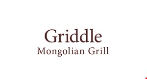 Griddle Mongolian Grill logo