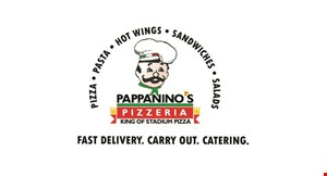 Product image for Pappanino's Pizzeria $27 2 large thin crust pizzas with one topping. Tues & Thurs only!.