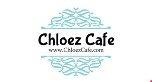 Product image for Chloez Cafe $10 OFF any purchase of $50 or more.