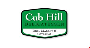 Product image for Cub Hill Deli $1 off garden, Greek, Caesar or Cobb salad