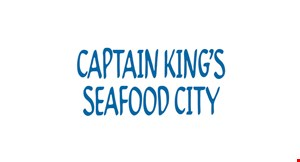 Product image for Captain King's Seafood City $1 Off adult lunch buffet