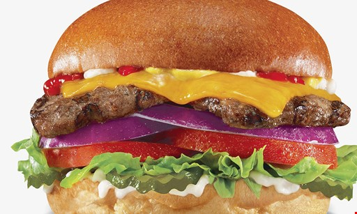 Product image for Hardee's FREE Thickburger buy one Thickburger, get the second of equal or lesser value for free