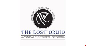 Product image for The Lost Druid 15% off food and beverage