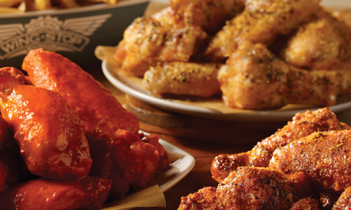 Product image for Wing Stop $5 OFF ANY DELIVERY OR ONLINE ORDER