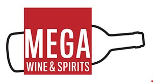 Product image for Mega Liquors $5 off minimum purchase of $50