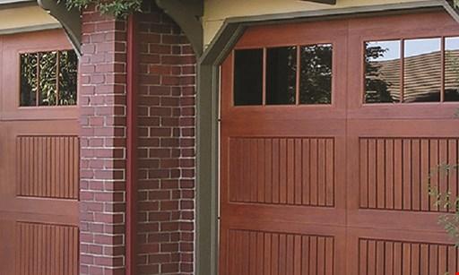 Product image for Overhead Door Save today! Insulated garage doors. $150 off double garage door. $75 off single garage door.