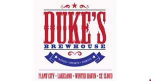 Product image for Duke's Brewhouse - Brandon $10 OFF any purchase of $40 or more.