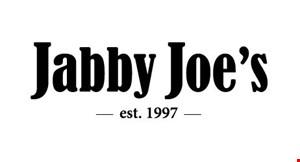 Product image for Jabby Joe's $19.95 4 PIECE FRIED CHICKEN, 8 CUT PIZZA & WHOLE ITALIAN HOAGIE.