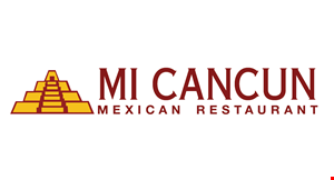 Product image for Mi Cancun $5 OFF Any Order of $25 or moreno alcohol included