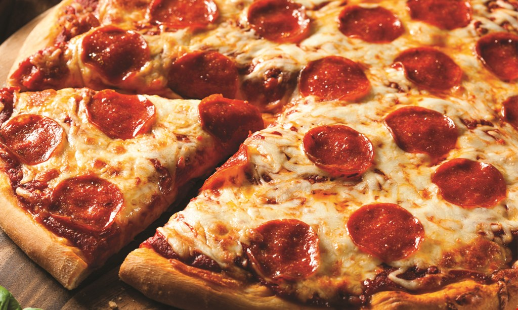 Product image for Russo's Pizzeria: Dorr 1/2 off pizza