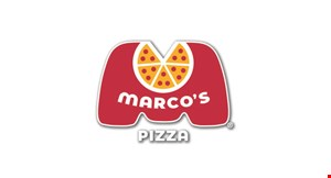 Product image for Marco's Gallatin $14.99 for a Large 2-Topping Pizza Plus Cheezybread.