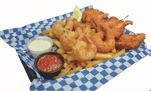 Product image for Chums Shrimp Shack $10 OFF any purchase of $50 or more.