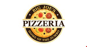 Product image for Big Joe's Pizzeria FREE pasta or salad