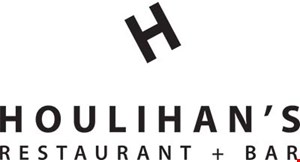 Product image for Houlihan's - Bridgewater $10 Off Any Food Purchase of $20 or more