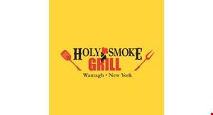 Holy Smoke Grill logo