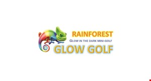 Product image for Rainforest Glow Indoor Mini Golf $50 off pre-booked Birthday party normally $275.
