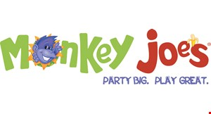 Product image for Monkey Joes $25 OFF any birthday party package.