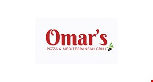 Product image for Omar's Pizza & Mediterranean Grill $5 off any dinner purchase