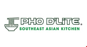 Product image for Pho D'Lite - Lexington Park $3 OFF entire check of $15 or more dine in only.