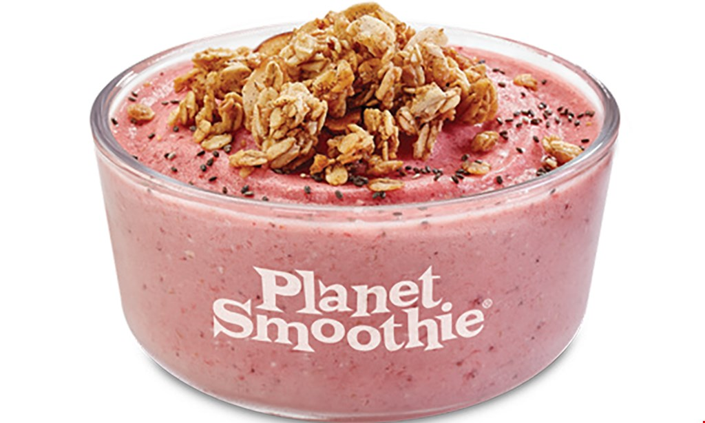 Product image for Planet Smoothie $2 off any smoothie or bowl