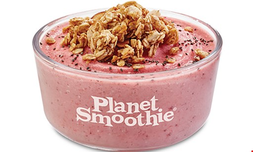 Product image for Planet Smoothie 50% Off any smoothie buy any smoothie, get one smoothie of equal or lesser value 50% OFF.