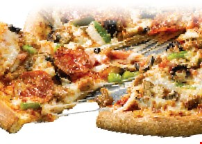 Product image for Papa John's Punta Gorda Only $7.99 Large 2 Topping Pizza