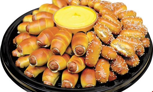 Product image for Philly Pretzel Factory $5 OFF any purchase of $20 or more.