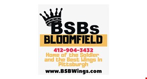 BSB's House of Wings Bloomfield logo