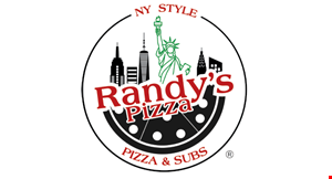 "Product image for Randy'S Pizza $23.50 18"" 2-Topping Pizza, 1/2 Dozen Knots,& 2-Liter Soda"