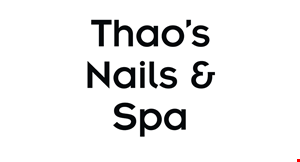 Product image for Thao's Nails & Spa $4 OFF any pedicure