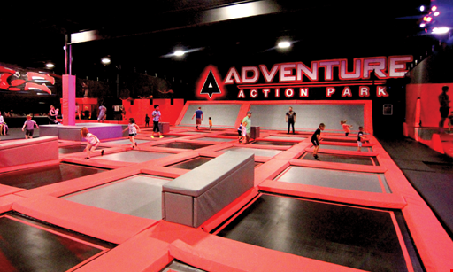 Product image for Adventure Action Park 10% off Any Party Package Code: mmparty