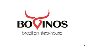 Product image for Bovinos Brazilian Steakhouse $10 OFF any purchase of $100 or more. Evening dinner time only.