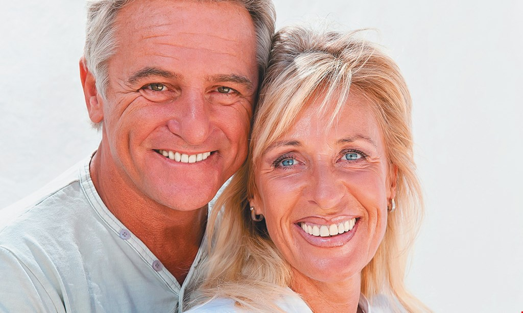 Product image for Upland Spa Dentistry FAMILY & COSMETIC DENTENTRY Special $3799. 4 Denture Supporting Implant.s