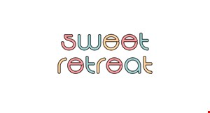 Product image for Sweet Retreat 1/2OFF any ice cream cup or tea! with purchase of equal or lesser value