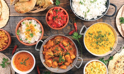 Product image for Bombay Blues Indian Cuisine LLC $10 OFF any take-out order of $50 or more.