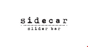 Product image for Sidecar Slider Bar $10 Off ANY PURCHASE OF $50 OR MORE.
