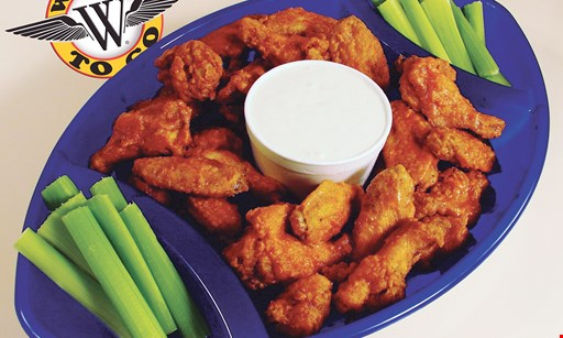 Product image for Wings To Go - New Castle $10 off any purchase of $50 or more.