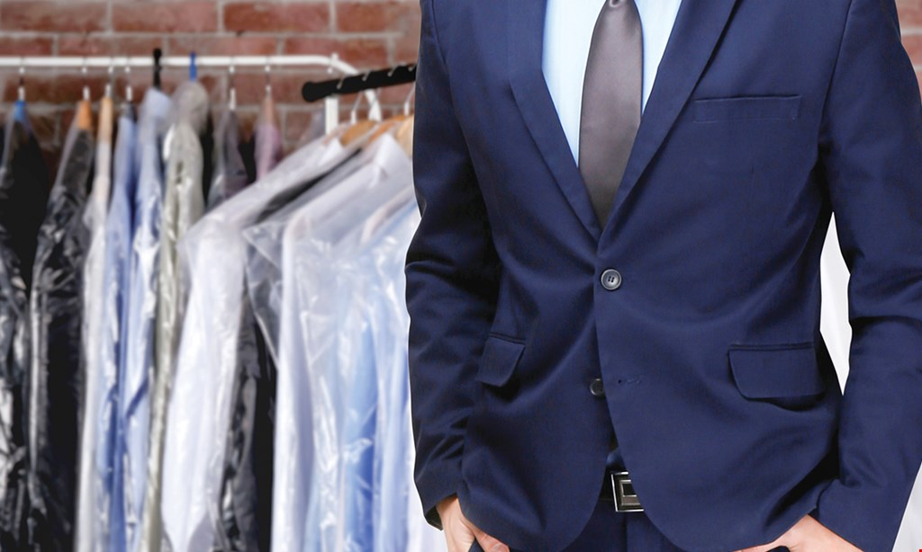 Product image for Touch Of Class Cleaners 15% OFF ANY DRY CLEANING ORDER OF $20 OR MORE.