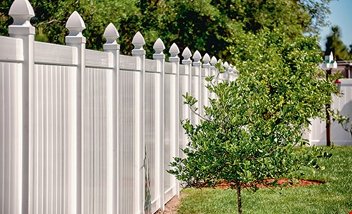 Product image for Township Fence $250 off or FREE WALK GATE with any purchase of 200' or more of vinyl or aluminum fence.