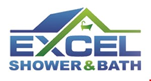 Product image for Excel Shower & Bath 18 month interest, no payments free financing
