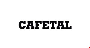 Product image for Cafetal Up to $20 off!