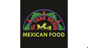 Product image for El Toro Bravo Mexican Food 10% off any order