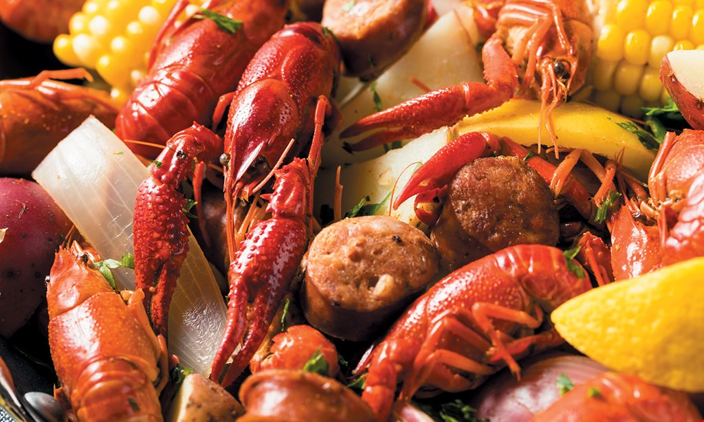Product image for Crabby's Cajun $10 OFF any purchase of $50 or more