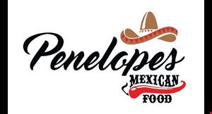 Penelopes Mexican Food logo