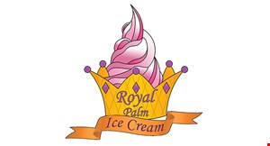 Product image for Royal Palm Ice Cream $1 Off any item.
