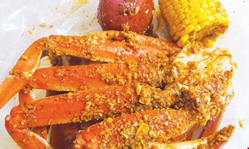 Product image for The Juicy Crab Chattanooga 1/2 off Lunch Buy one lunch entree get the second one of equal or lesser value half off